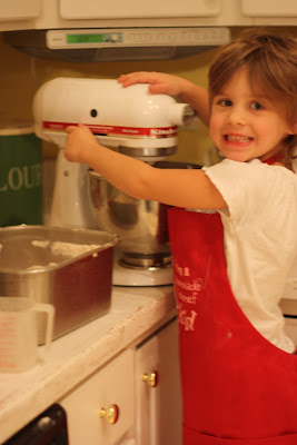Cooking with kids...it works for me