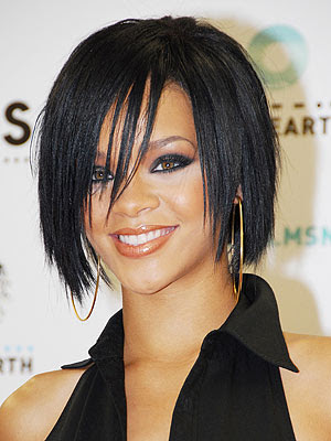 rihanna haircut. newest Rihanna hairstyle.