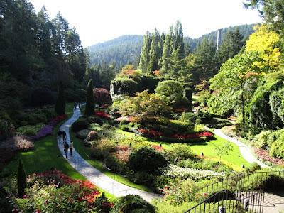 Butchart Gardens, Sunken Garden