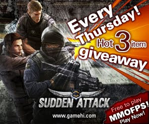 Sudden Attack Item Key Giveaway