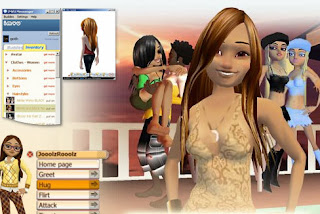 MVU is a social network and 3D virtual world where millions of  people meet, chat and have fun in animated 3D scenes. You can shop and  dress up your avatar with your own personalized look, design and  decorate your own 3D space, and connect with new people from around the  world.