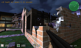 Sauerbraten (a.k.a. Cube 2) is a free  multiplayer/singleplayer first person shooter, built as a major redesign  of the Cube FPS. Much like the original Cube, the aim of this game is  not necessarily to produce the most features & eyecandy possible,  but rather to allow map/geometry editing to be done dynamically in-game,  to create fun gameplay and an elegant engine. The engine supporting the  game is entirely original in code & design, and its code is Open  Source (ZLIB license, read the docs for more on how you can use the  engine). In addition to the FPS game which is in a very playable state,  the engine is being used for an RPG which is in the preproduction phase.  Additionally, Proper Games ltd are the first to use the engine  commercially.