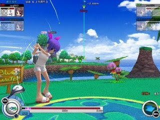 Albatross18 is a 3-D cartoony Golfing MMO with beautiful courses and fun game modes. The game is set in the beautiful backdrop of a fantasy world where reality stops and magic abounds. This magical world puts an exciting new twist on golf, introducing swords, magic, airships, and a cast of cool and crazy characters, caddies, and mascots. Meet up for a quick match, join a tournament, play together in the child-friendly Family Mode, or just run around and trade with online buddies in the PSquare!