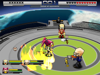 Splash Fighters is a 3d fighting action MMO with cartoony graphics. Chose from 8 classes and dozens of maps and battle it out alone or against other players. Splash Fighters has very basic controls but plenty of game modes, items, and game modes.