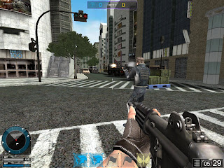 Operation 7 is an online shooting game (MMOFPS) featuring a unique gun modification system. In Operation 7, 5 types of different items including functional items can be equipped on the character. Also, there are 3 different designs for the same model or parts so each player can costomize their character appearance the way they want. In addition, players' body movements while shooting, such as dashing or holding breath, will also influence destruction and accuracy.