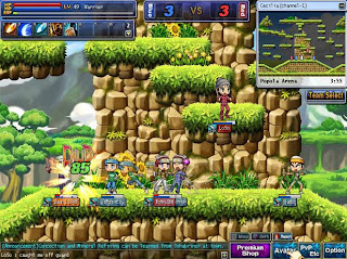 Wind Slayer is a side-scrolling MMORPG in which you'll embark on a hero's journey through beautiful Beuritania to become a great adventurer. Wind Slayer not only offers the classic role-playing experiences but also exciting 1 on 1 fight stages where players can compete against each other in various maps of the vast continent, using abilities that include special movements to evade attacks or position yourself for a crushing offense, swordplay skills, and explosive magic.