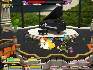 GetAmped2 is an exciting and refreshing MMO battle action online game. Because of the simple control that is possible by a keyboard or a game controller and the various battle modes that you have never experienced, it is easy for beginners to play and enjoyable for expert players.