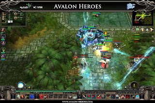 Avalon Heroes offers a breathtaking combination of real-time strategy and role playing with competitive elements, similar to the successful game modification