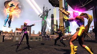 Champions Online: Free for All is a superhero-themed massively multiplayer online role-playing Game (MMORPG) from Cryptic Studios (creator of the award-winning City of Heroes)