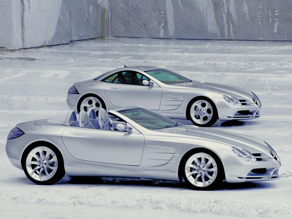 Supercars: Mercedes-Benz SLR McLaren