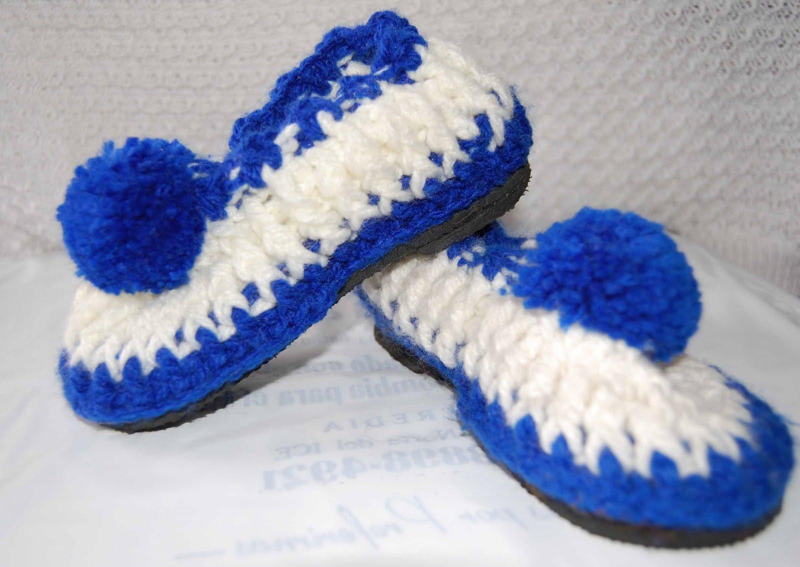 pantuflas tejidas y telares pantuflas hechas a mano santiago products ...