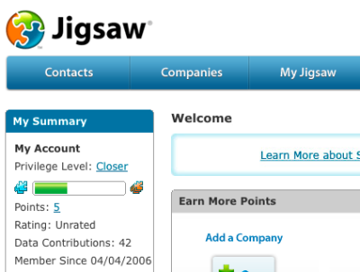 Salesforce to acquire Jigsaw Sales Lead Tool