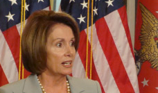 I blame the failout's defeat on Speaker Pelosi