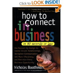 Nicholas Boothman's How to Connect in Business