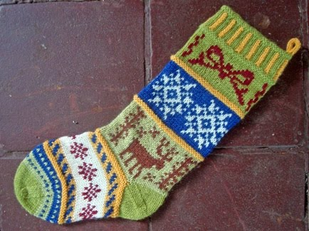 Christmas Stocking Knitting Pattern: Christmas-inspired Knitted