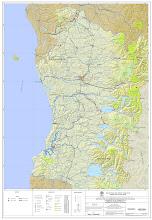 Situación Red Vial administrada por la Dirección de Vialidad en las regiones IX y XIV