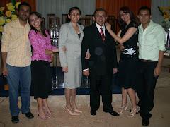 Família do pastor Nonato Souza
