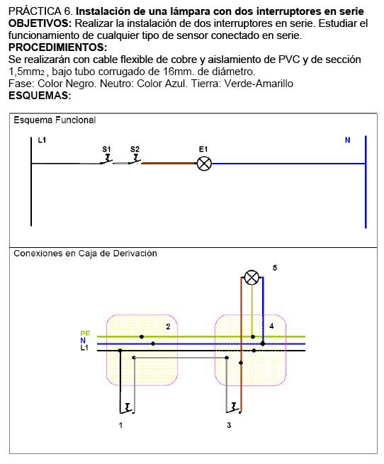 Blogepracticas grupo 1 practica 6 instalacion de una - Interruptores para lamparas ...