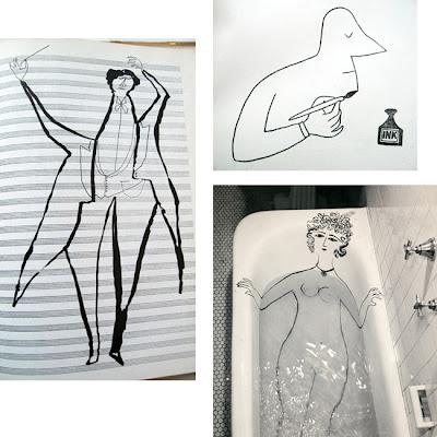 saul-steinberg-drawings