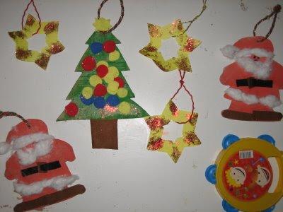 Manualidades adornos navideños