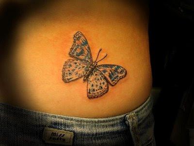 Fotos tatuagem de borboletas