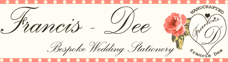 Francis-Dee bespoke wedding Stationery