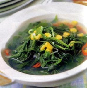 Spinach Recipe , Resep Sayur Bayam