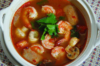 Tom Yum Koong Soup  Recipe ( Resep Sup Tom Yum Koong )