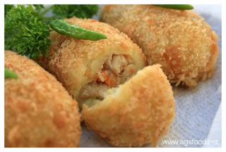 Potato Croquettes Recipe (Resep Kroket Kentang)
