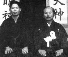 Gichin y Gigo Funakoshi
