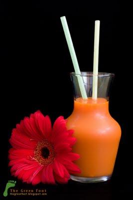 Suc de morcovi cu miere