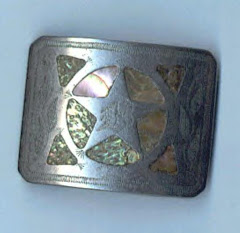 Clyde Barrow belt buckle.