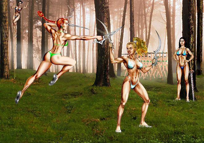 Amazonas entrenando / Amazons training