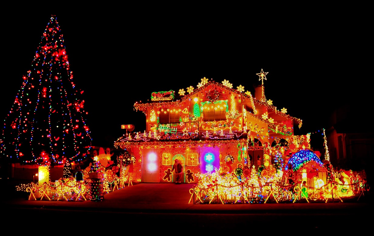 christmas house decorations - Christmas House Decorations