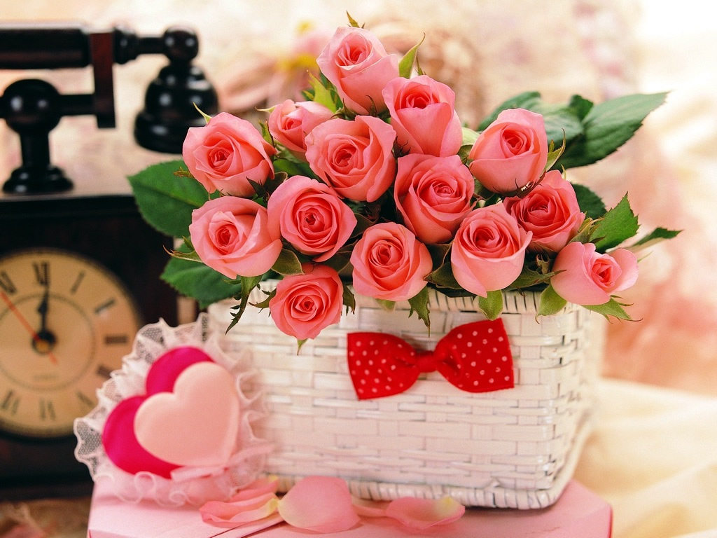 High Definition And Wallpapers valentines day flower wallpape