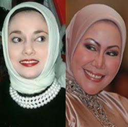 Ratu Atut CHosiyah & Marisa Haque Fawzi