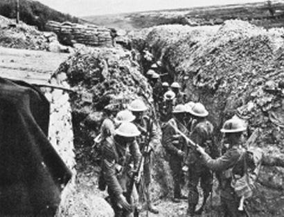 Características de la Primera Guerra Mundial