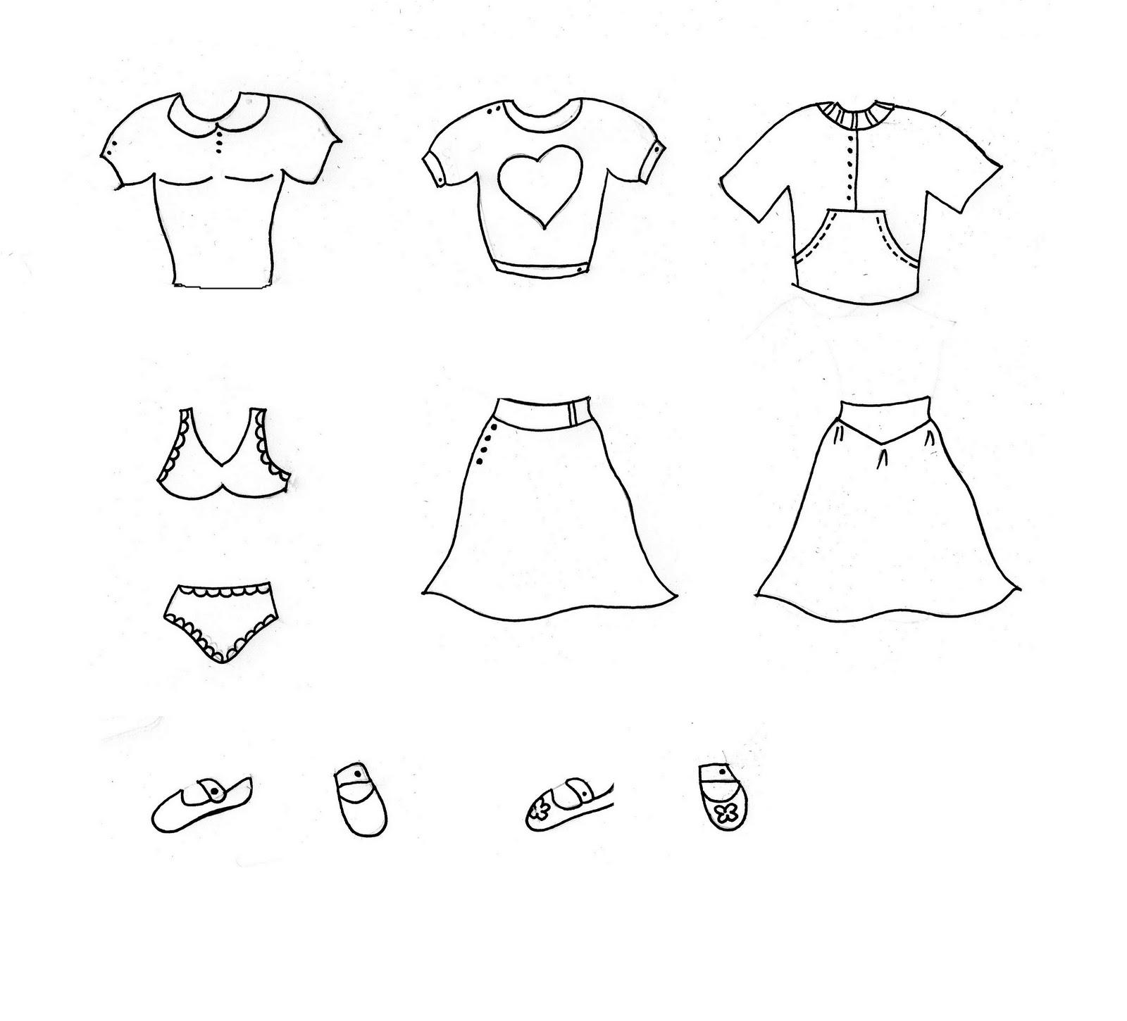 Imagen de nena para pintar sin ropa - Imagui
