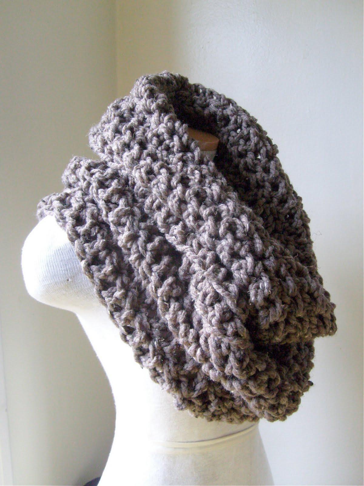 Crochet Cowl : Crocheted Cowl Neckwarmers