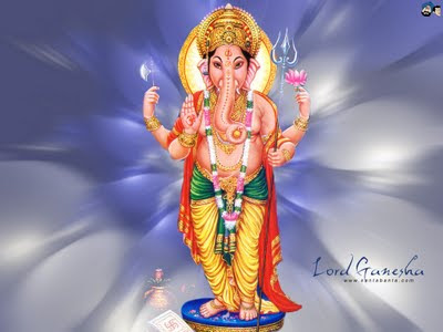 ganesh wallpaper. Millions of small Ganesh idols