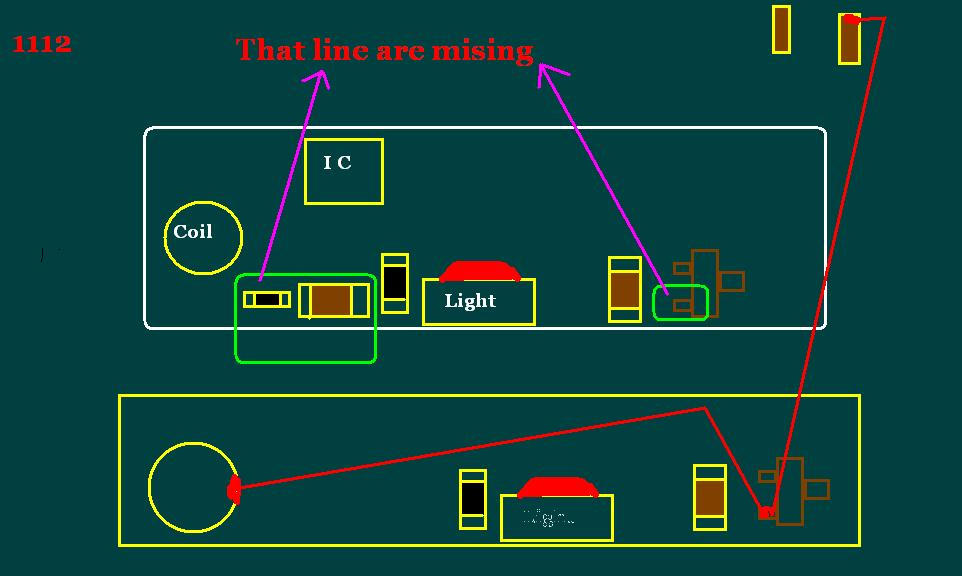 Light Missing Problem Solution or Light Coil and IC Ok But Light Not