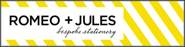 Romeo and Jules Bespoke Stationery