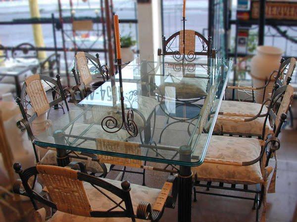 Hierro forja arte muebles y mucho mas - Sillas de forja para comedor ...