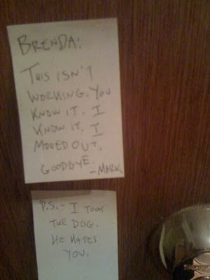Funny Breakup Letters - COMEDY SITE