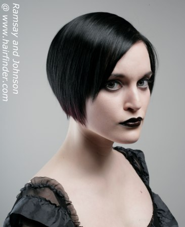 gothic and halloween hairstyles