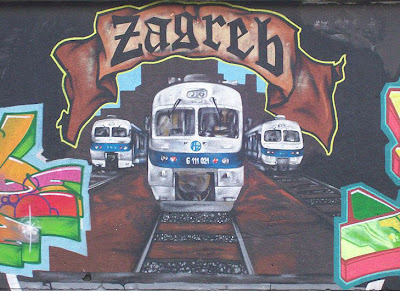 irish in grafitti lettering
