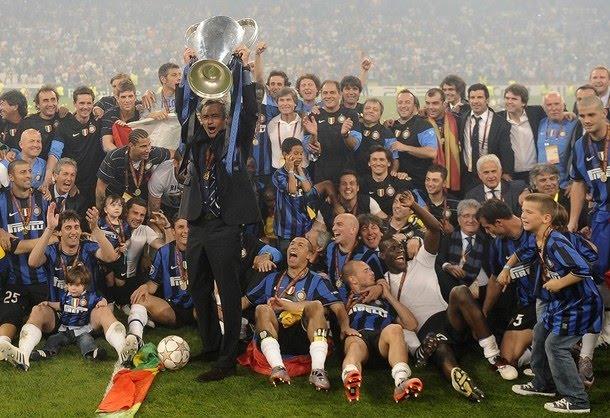 Palmarés de José Mourinho Inter+campeon