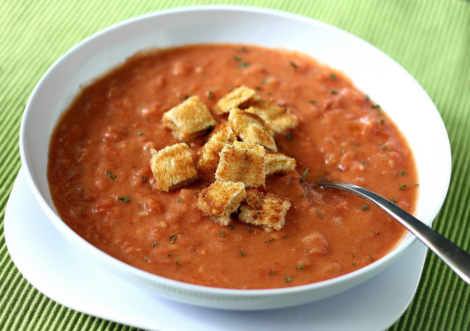 Mangio da Sola: Cream of Tomato Soup