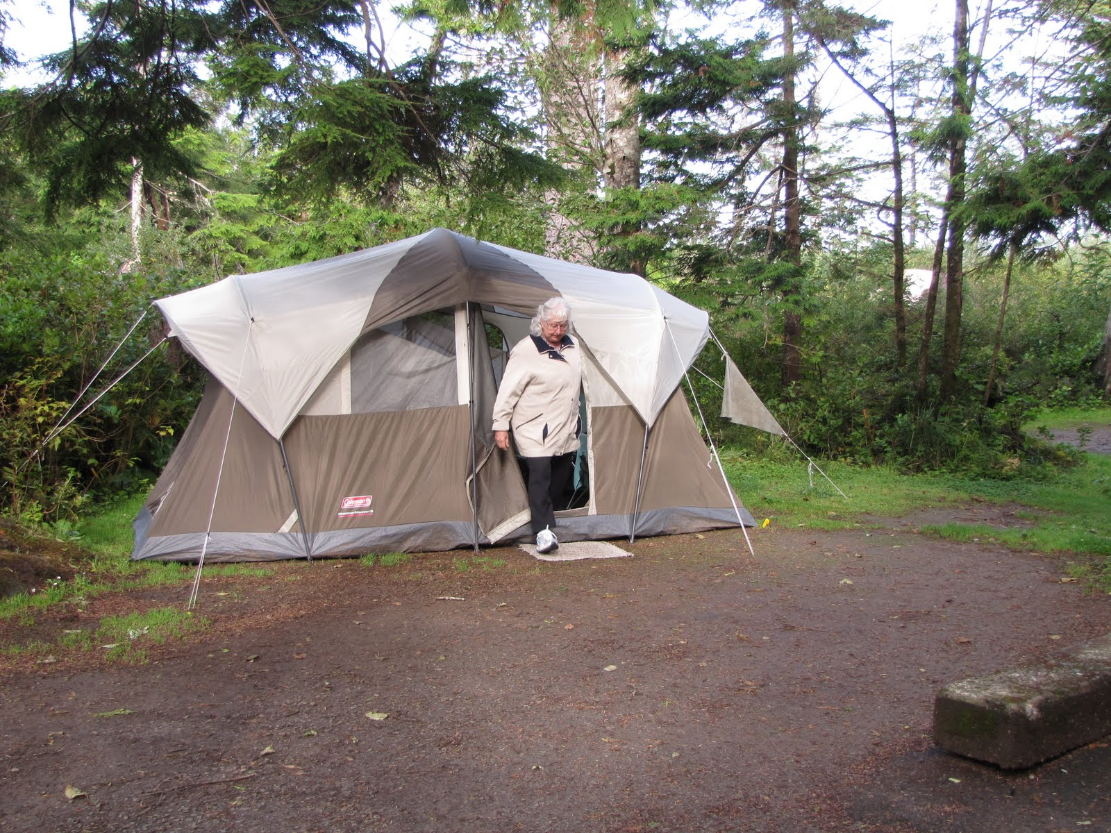 Linda's Ladle: Tent camping on the Oregon Coast #8
