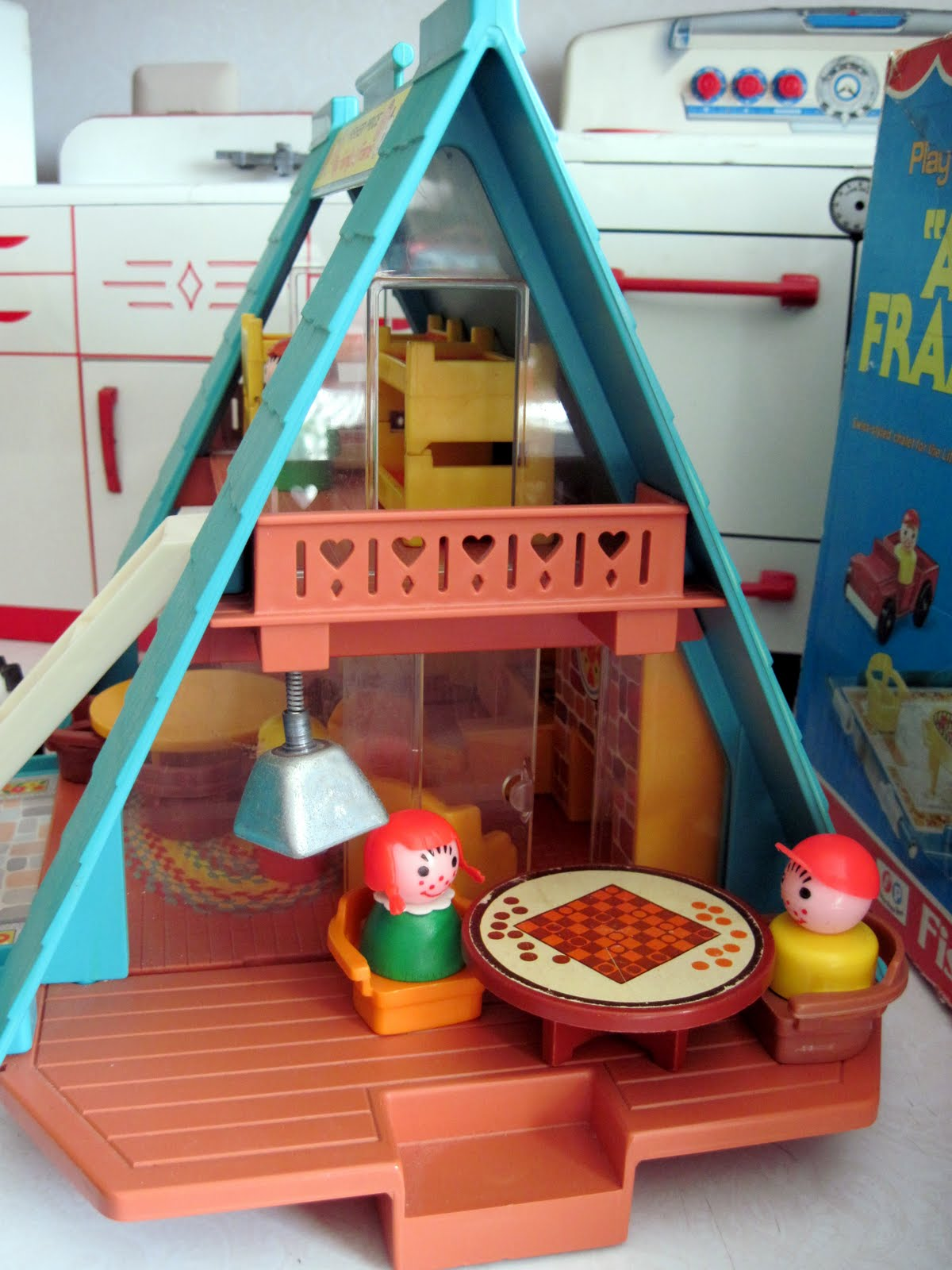 Tracy 39 s toys and some other stuff fisher price play for A frame house prices